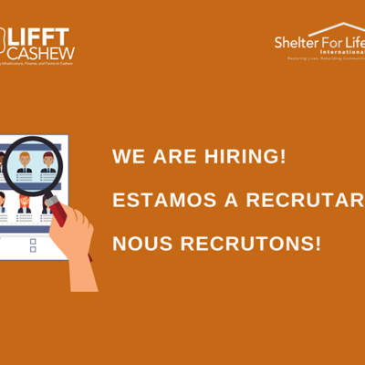 Lifft-cashew project implemented by Shelter for life International hiring a Assosiations/Cooperative development strategy for SeGaBi region (Senegal, the Gambia and Guinea-Bissau)